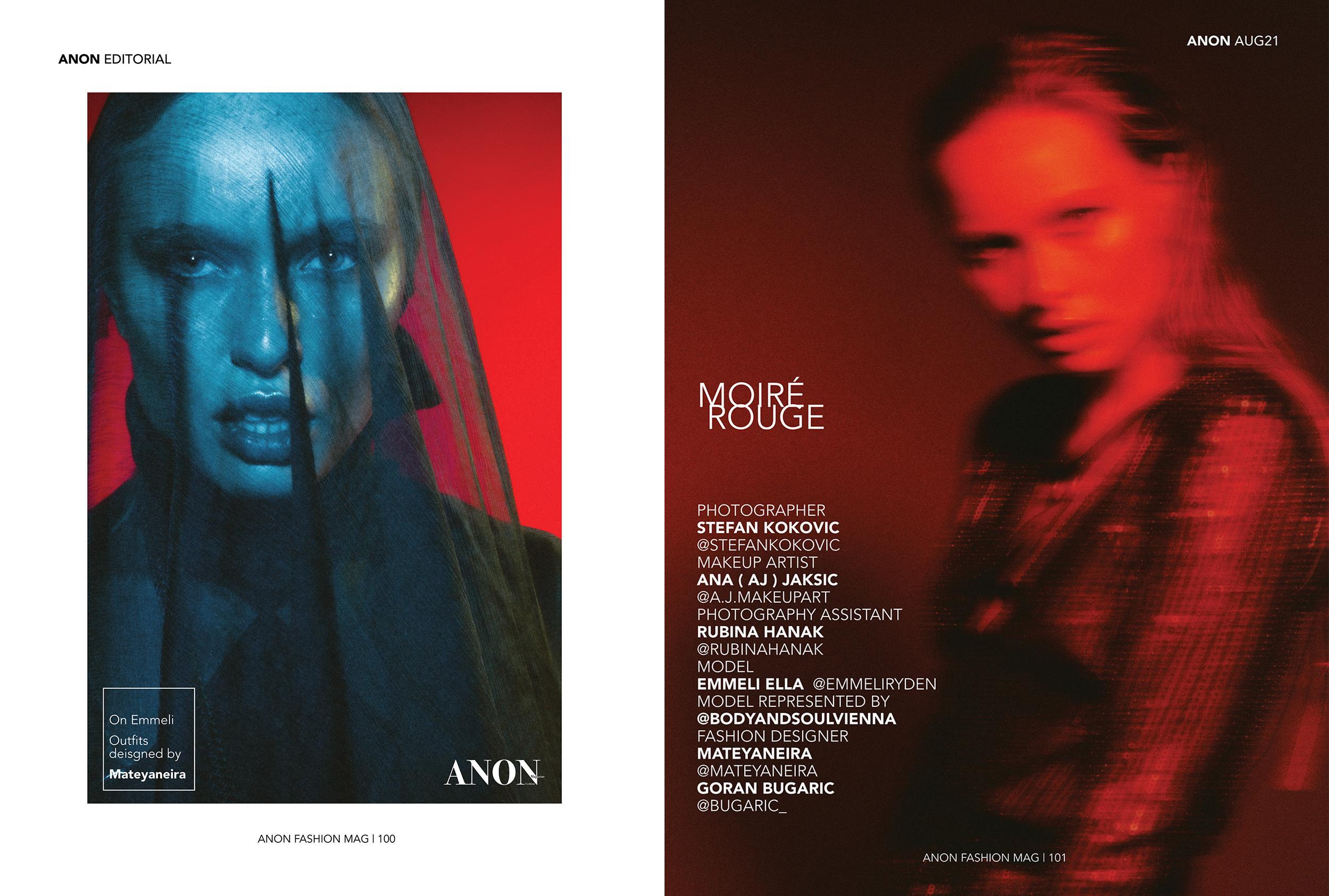 Moire Rouge - Stefan Kokovic